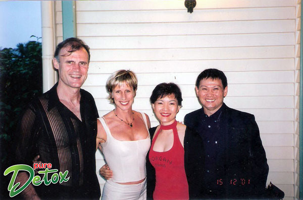 Philip & Jackie Mills (CEO Les Mills International), Michael & Lily Han (CEO Pure Detox)